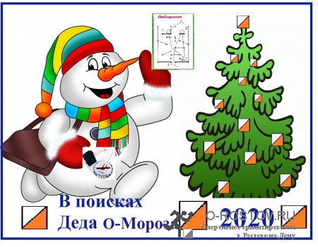 """Ночной лабиринт """"В поисках Деда О-Мороза 2020"""""""